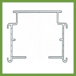 Double Pelmet Vertical Blind Track